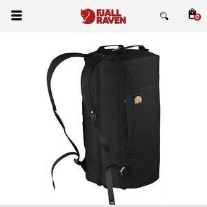 Fjallraven Black Splitpack Backpack Large